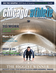Bernie Salazar on Chicago Athlete's March Magazine