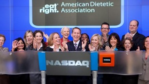 Registered Dietitians Ring NASDAQ on March 12 2009