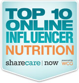 ShareCare Top 10 Online Influencer in Nutrition