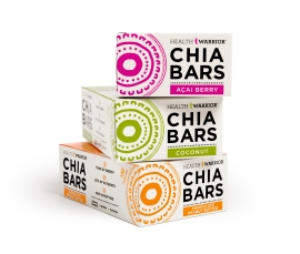 Chia Bars Boxes 3 Flavors