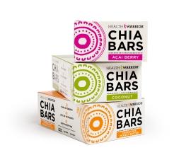 Chia Bars Boxes 3 Flavors