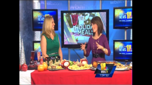 Healthy (and easy!) Holiday Entertaining