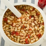 Kelsey Nixon's Pasta e fagioli (for Cans Get You Cooking)