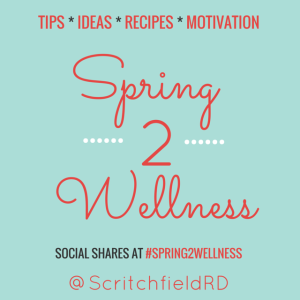 We're Up! #Spring2Wellness Challenge is On – Are You In?
